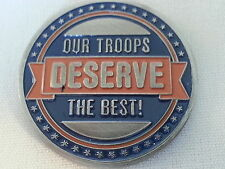Tencate Military / Our Troops Deserve the Best / Challenge Coin