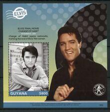 Guyana 2018 MNH Elvis Presley His Life in Stamps 1v S/S IV Music Celebrities