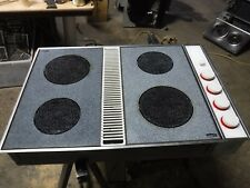 Jenn air cm200 downdraft white expressions with grill unit and lexan covers