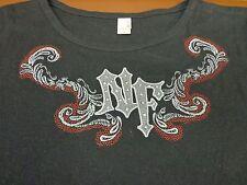 Womans NHRA Full Throttle  Drag Racing t-shirt Size Large V4