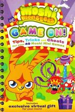MOSHI MONSTERS - GAME ON! TIPS TRICKS & CHEATS FOR OVER 40 MOSHI MINI GAMES PB