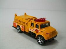 Matchbox International Pumper Fire Truck  379 Yellow Paint HTF 1/64 Scale JC54
