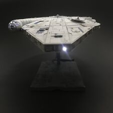 PRO BUILT Lando's Millennium Falcon W/ FULL LIGHTING Prop Replica Solo Star Wars