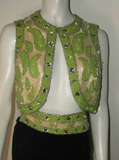 A Rare & Quite Amazing Vintage Raymond Martier New York All Beaded w/Crystals