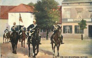 Calvary Horse Gernan Military Tuck #63B Tuck Oilette 1907 Postcard 21-2003
