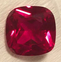 Ruby Cushion Cut 10 x10 mm Loose Stones  Very Best Quality