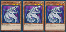 3X Cyber Dragon -Common -LEDD-ENB01-Yugioh Legendary Dragon Decks
