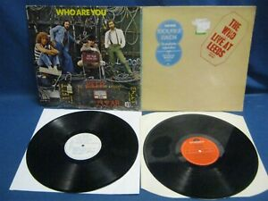 RECORD ALBUM THE WHO LIVE AT LEEDS WHO ARE YOU 7794