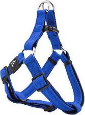 KRUZ PET Adjustable Step-in Puffy Lightweight Mesh Harness - M - Blue - New