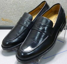 5911601 MS50 Men's Shoes Size 10 M Black Leather Slip on  Johnston & Murphy