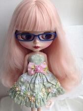 Blythe Nude Doll Factory Neo Blythe Custom Doll Matt Face Long Curly Pink Hair