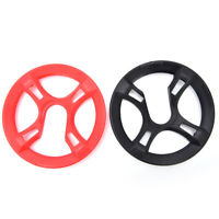 Bicycle Chain Wheel Cover Plastic Plate Protective Guard Pivot Crank Protector F