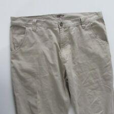 Oakley Mens Pants Beige Size W38 L32 Loose Fit