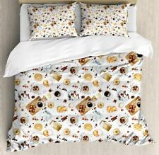 Kitchen Theme Duvet Cover Set Twin Queen King Sizes with Pillow Shams