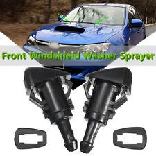1 Pair Front Windshield Wiper Washer Nozzle Spray For Subaru Impreza 08-12 47230