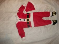 The Pyjama Party B/éb/é Christmas Rouge Jacquard /à Motifs Sleep-Suit Barboteuse Footsie Pyjama