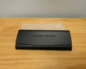 5x NEW Oscar Wylee Sunglasses Cases Black Model F180L Case with Cloth- PACK OF 5