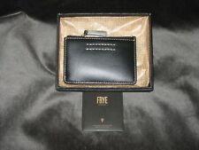 NWT Frye Harness ID Card/Coin Case - Black, DB484, Retail $78