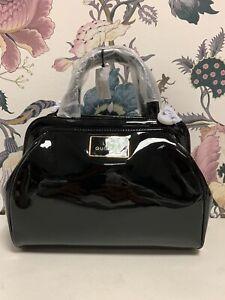 Lulu Guinness Small Paula Black Patent Leather Bag (01)