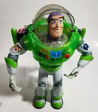 DIsney Pixar Green Toy Story Talking Interstellar Buzz Lightyear Thinkway