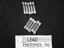 10x MDL 3 AMP ,31303.0  6MM X 30MM SLO-BLO 3-AMP 125-VOLT GLASS FUSE