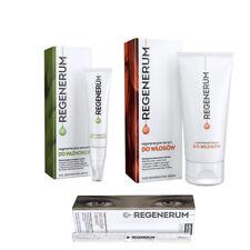 Regenerum Eyelash Growth, Hair Regenerating, Nail Regeneration Serum SET
