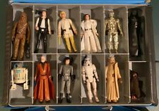 Star Wars Kenner Vintage First 21 1977-1979 Mini Action Figure Case 12 Back Luke