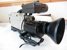 Sony DXC-3000P Videocamera professionale 3CCD Broadcasting Video Camera + obiettivo FUJI