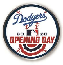 L.A. LOS ANGELES DODGERS 2020 OPENING DAY PIN MAJOR LEAGUE BASEBALL WORLD SERIES