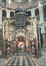 Postcard Israel Jerusalem Church of Holy Sepulchre Interior c1980s