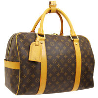 LOUIS VUITTON CARRYALL TRAVEL HAND BAG MONOGRAM CANVAS M40074 AK38082k