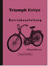 Triumph Knirps (Kettenantrieb) Bedienungsanleitung Betriebsanleitung Handbuch