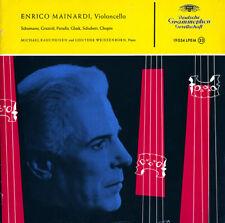 DGG LPEM-19054 Autographed #498 MAINARDI Cello SCHUMANN GLUCK GRAZIOLI SCHUBERT