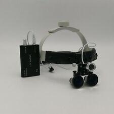 3.5X Headband Binocular Dental Surgical Loupes with 3W LED Headlight NEW