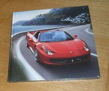 Ferrari 458 Spider Hardback Brochure Book 2012-2015 - Factory Sealed