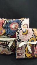 Pottery Barn Helena Floral Duvet Full Queen w/ 1 Euro Sham Multi #4599