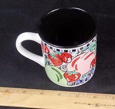 LIBBY'S GARDEN BY GANZ FRUITS CAPPUCCINO COFFEE MUG CUP F1