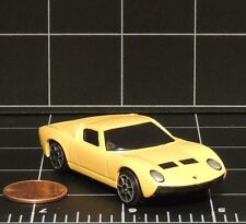 Yellow 1966 Lamborghini Miura Fresh Metal Maisto sports car die cast 15044 loose