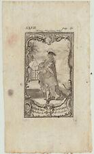 Januariusorden SIZILIEN NEAPEL Orig. Kupferstich 1780 ITALIEN Adel Orden König