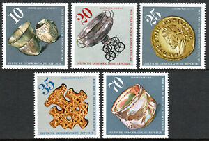 Germany DDR/GDR 1775-1779, MNH. Archaeological finds in DDR, 1976