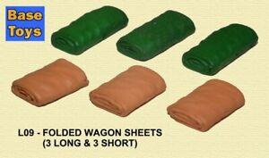 BASE TOYS L09 Folded Wagon Sheets (3 Short & 3 Long)
