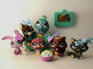 Littlest Pet Shop 5 Video Game Friends 810 815 817 828 1448 Brown Dot Great Dane