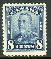Canada 1928 Admiral 8¢ Blue Scott # 154 MNH H910