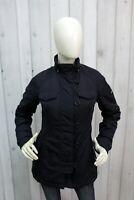 WOOLRICH Donna Taglia S Giubbotto Blu Giubbino Invernale Giacca Woman Jacket