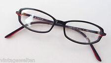 Brille Damenfassung schwarz Mädchengestell mit schmalen Gläsern leicht Grösse S