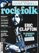 ROCK & FOLK 618--ERIC CLAPTON/BUZZCOCKS/THE SPECIALS/JIMMY PAGE/DANDY WARHOLS