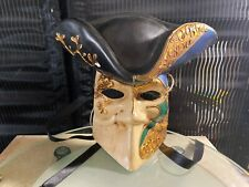 Vintage Pirate Plastic Wall Mask