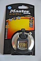 Master Lock M40EURDNUM Excell Discus 4 Digit Combination 70mm Padlock - New