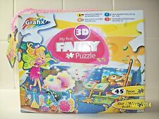 child Fairy Puzzle 45Pc Boxed -new,jigsaws, 26-50 pieces uk