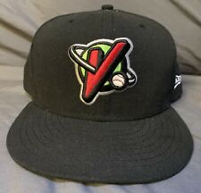 Great Falls Voyagers Black Hat, Cap Size 7 5/8